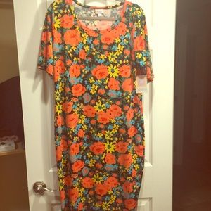 NWT Lularoe Julia dress 2x